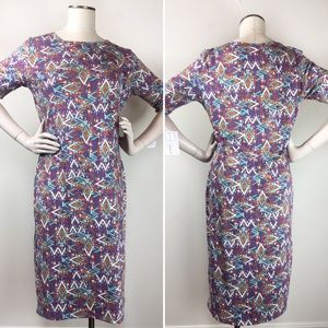 4/$25 Lularoe NWT Large Julia Dress Purple